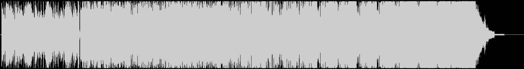 渋いサムライの日常絵巻の未再生の波形