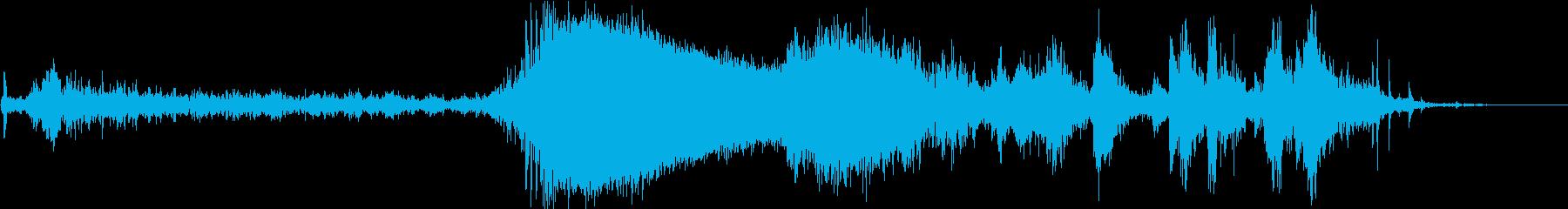 カースタート、プルアウェイ、クラッ...の再生済みの波形