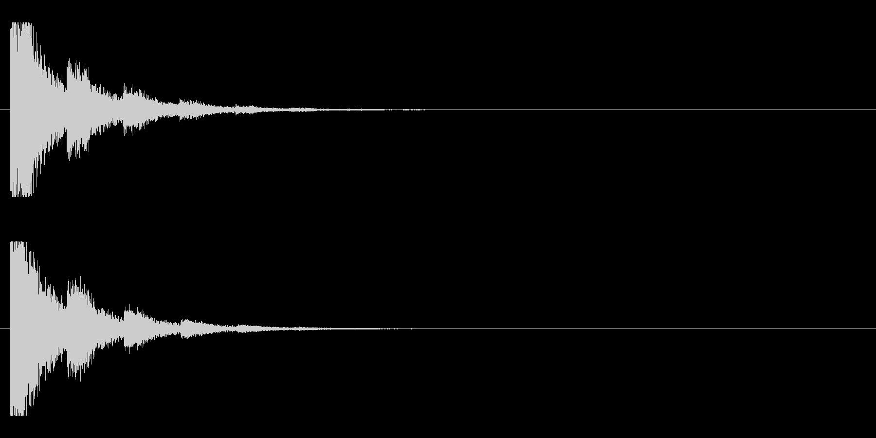 レーザー音-79-2の未再生の波形
