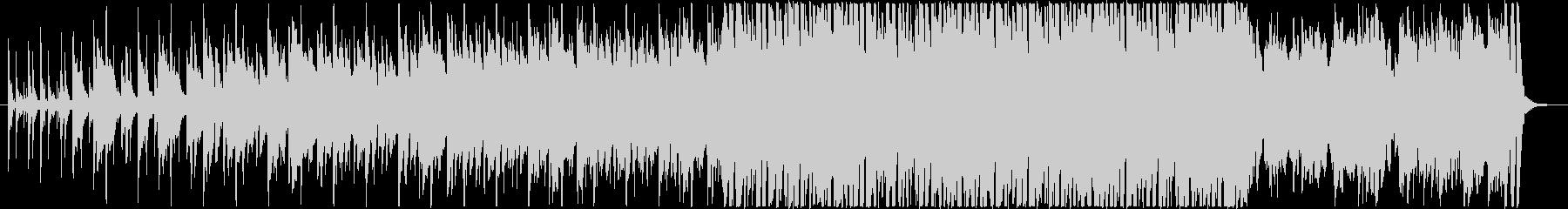 ライブルーピング的なダーク系ヒップホップの未再生の波形
