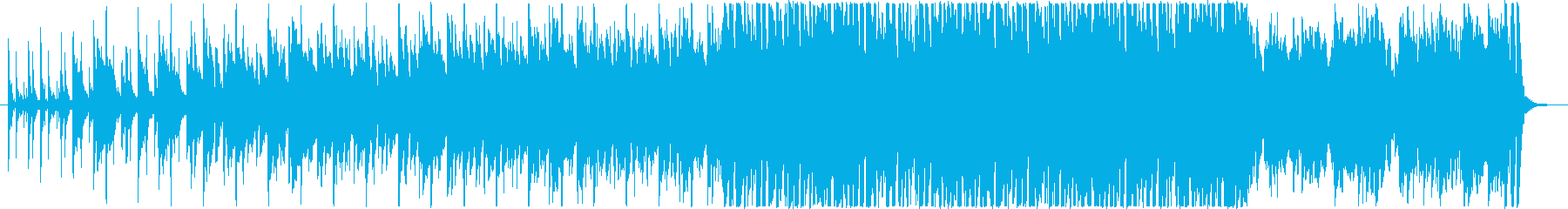 ライブルーピング的なダーク系ヒップホップの再生済みの波形