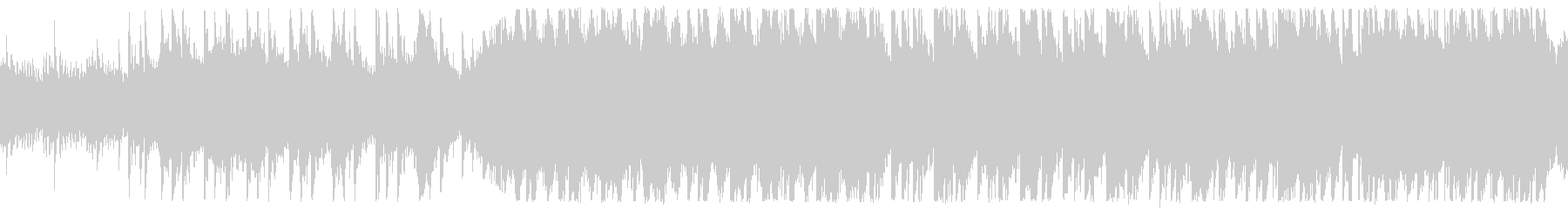 古い館ポルターガイストホラー ループ仕様の未再生の波形