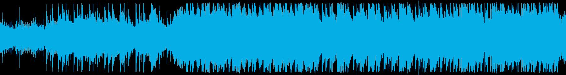 古い館ポルターガイストホラー ループ仕様の再生済みの波形