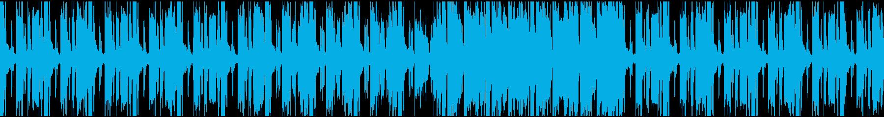 ゲーム/ブリーフィング/メニュー画面の再生済みの波形
