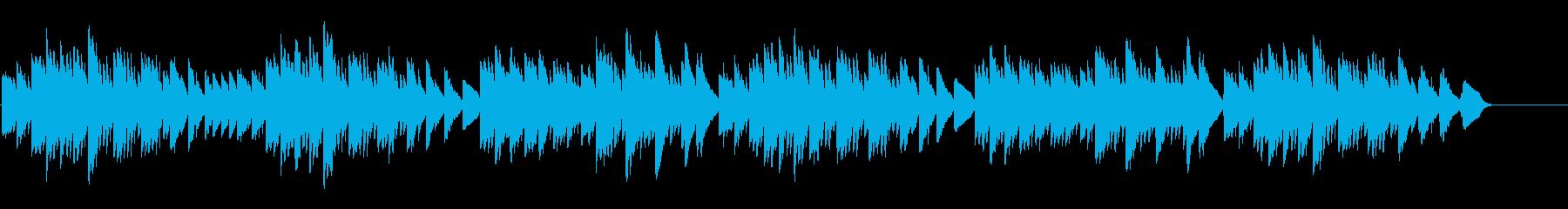 キラキラ星変奏曲(Var Ⅰ)オルゴールの再生済みの波形