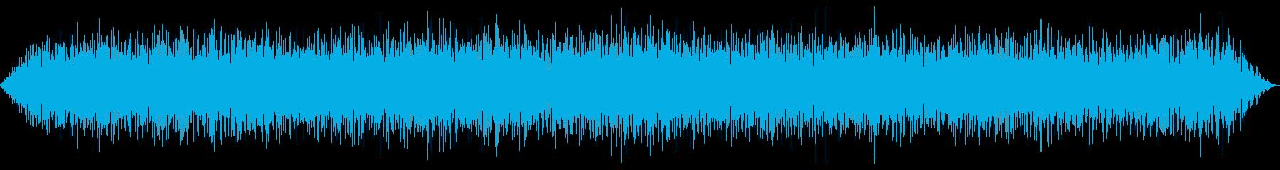 バイプレーンエンジンのアイドリングの再生済みの波形