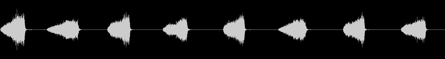 ストローブルーム:コンクリートクリ...の未再生の波形