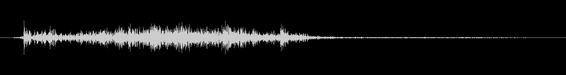 ふすまを開ける音2の未再生の波形