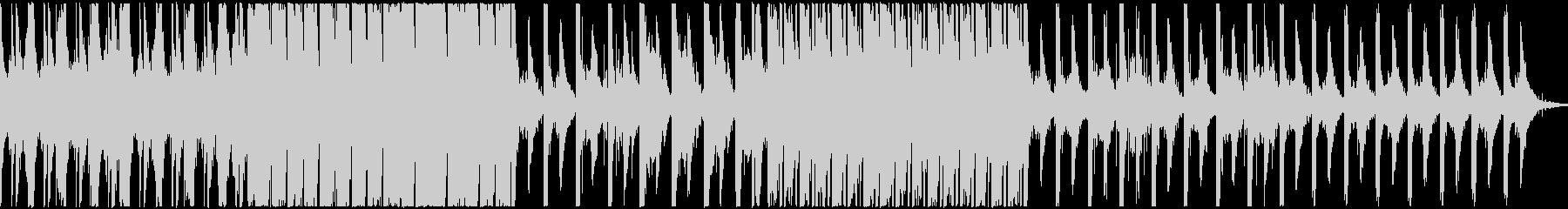 重厚で神秘的なピアノとベル主のエレクトロの未再生の波形