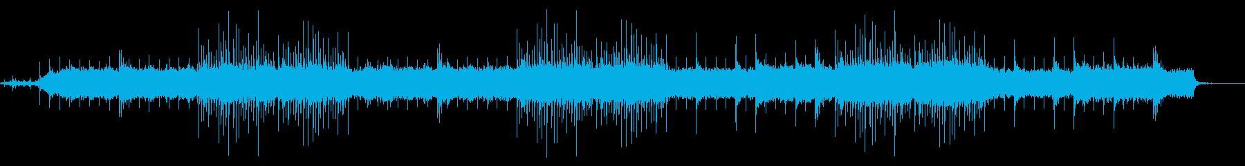 沖縄民謡を三線&癒しアレンジでの再生済みの波形