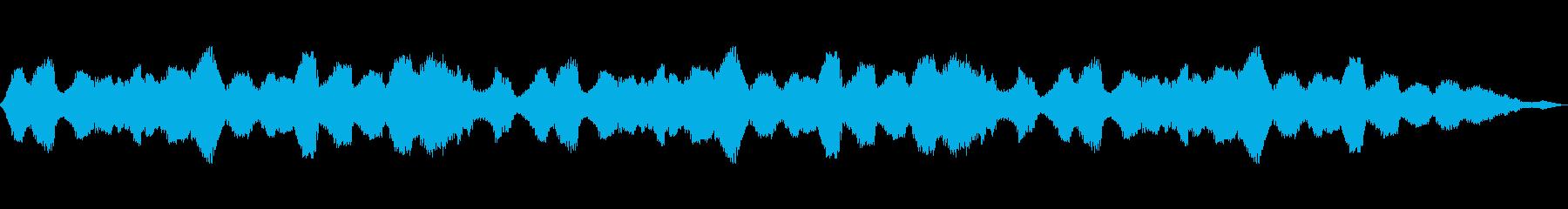 デジタル妨害の再生済みの波形