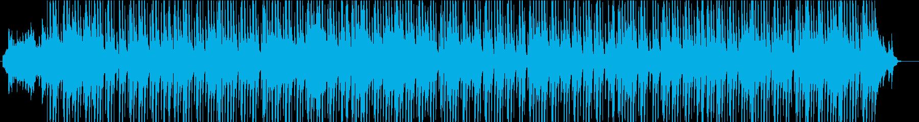 ノリのいい和の雰囲気をもったポップスの再生済みの波形