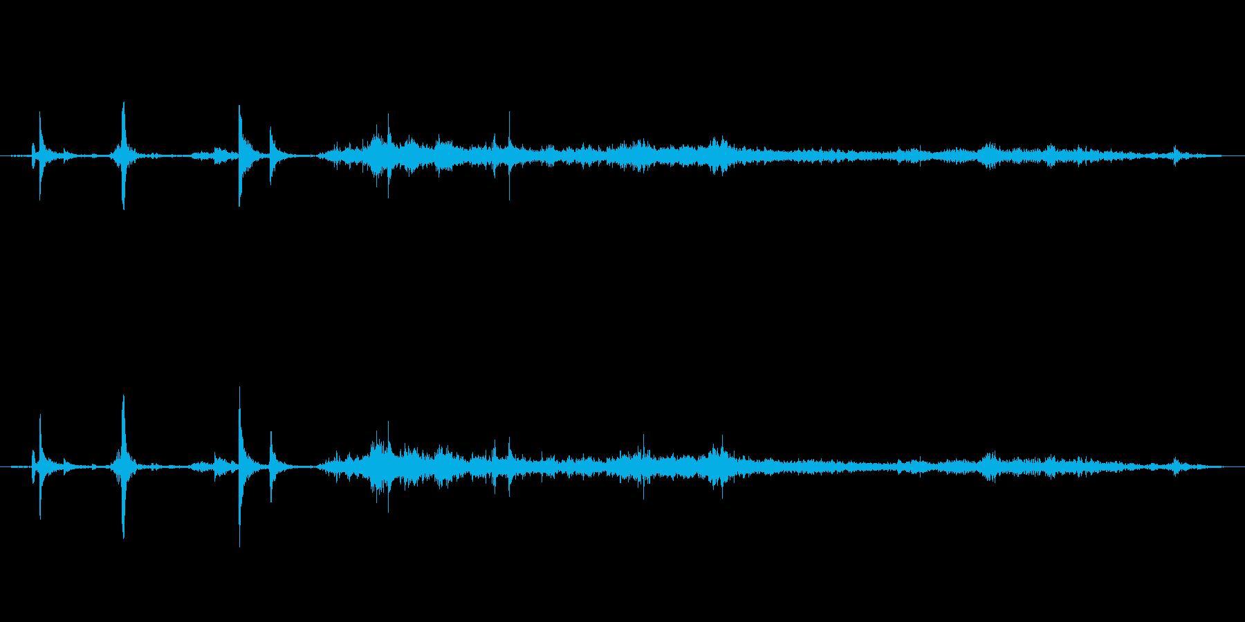 キッチン シンクウォーターポット02の再生済みの波形