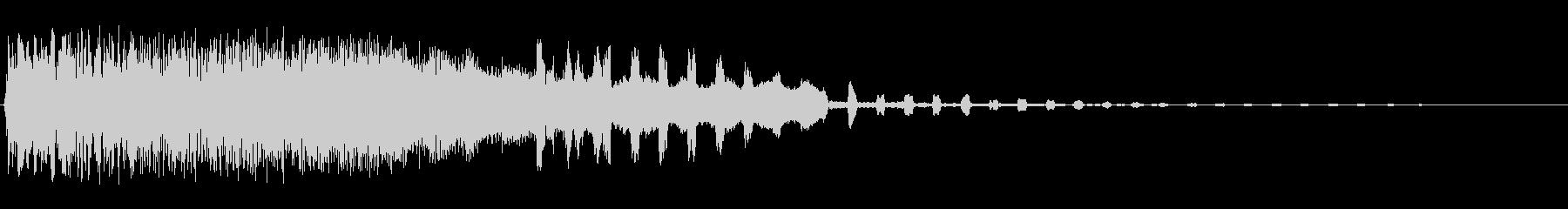 ブルルンカラカラ(高い2種類の効果音)の未再生の波形