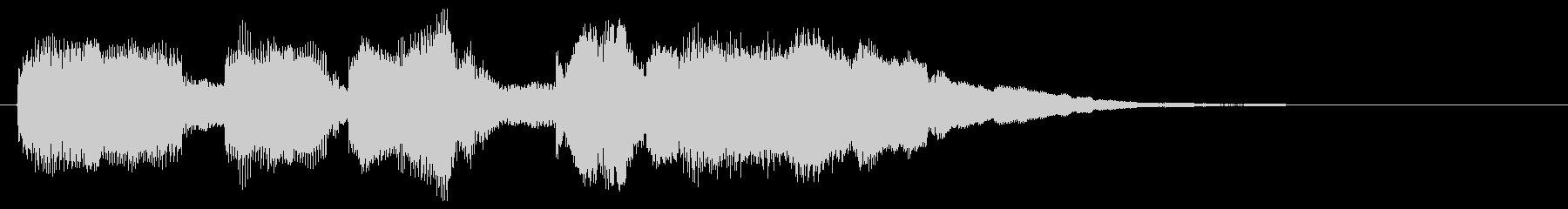面白い音 楽しい音 変な音 バラエティの未再生の波形