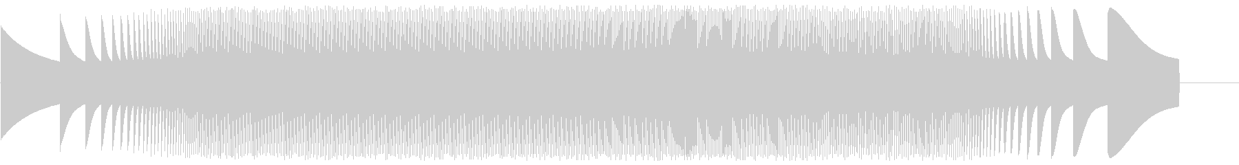 宇宙エンジン-ムーグの未再生の波形