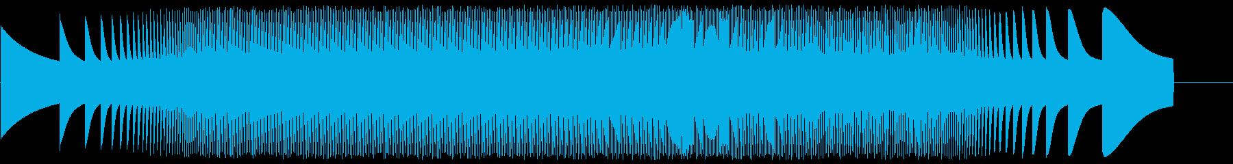 宇宙エンジン-ムーグの再生済みの波形
