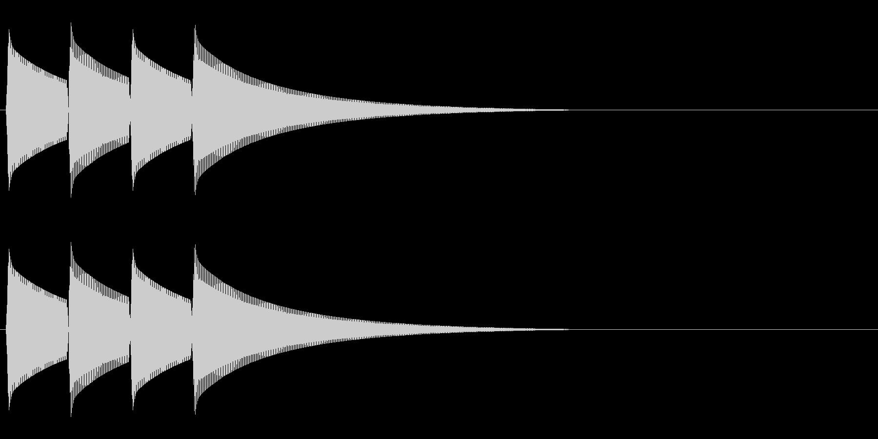ピンポンピンポン(正解/クイズ/余興)の未再生の波形