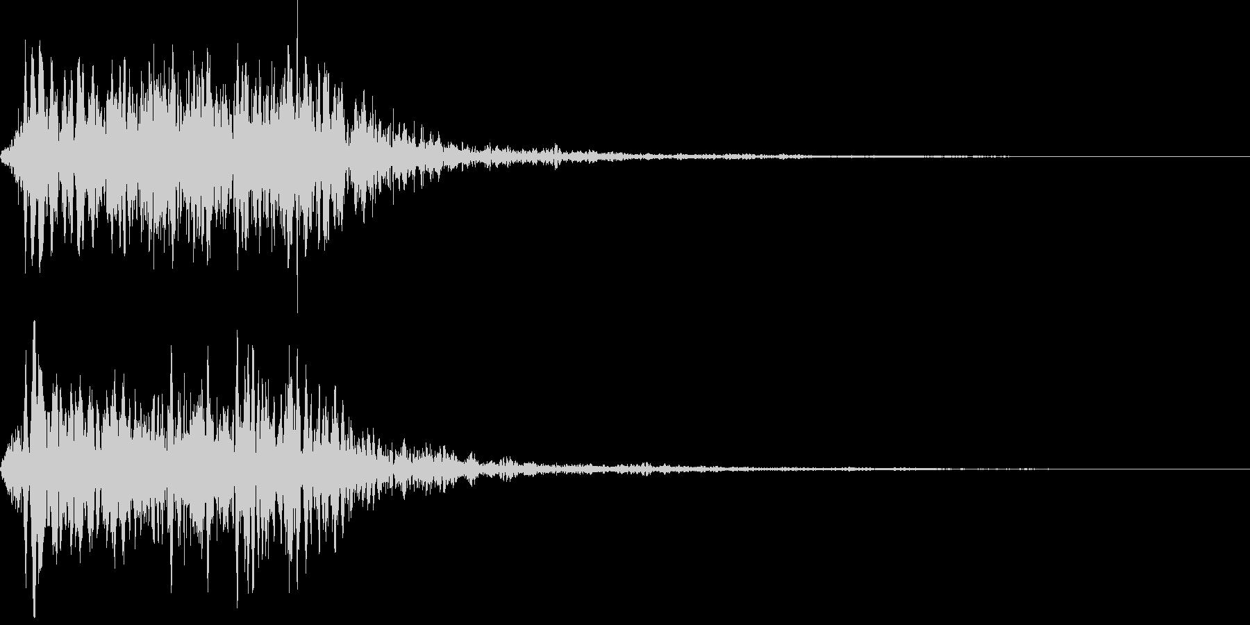 吹きすさぶ風・竜巻系の魔法(低2)sの未再生の波形
