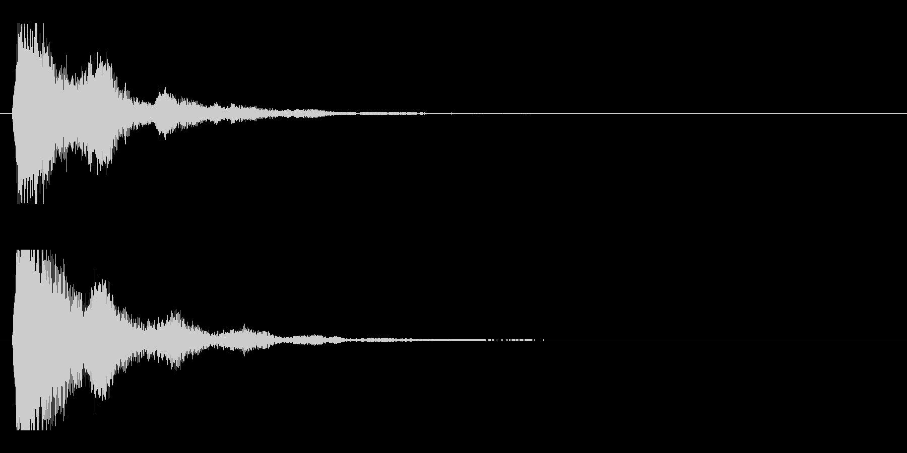 レーザー音-47-2の未再生の波形