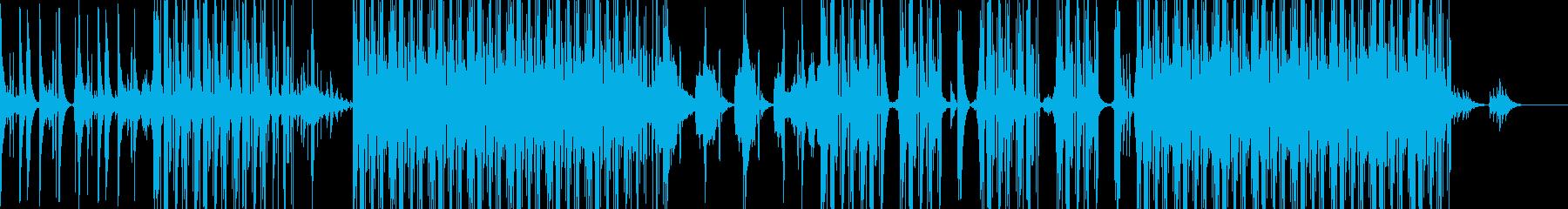ヒップホップ研究所トラップスタイル...の再生済みの波形