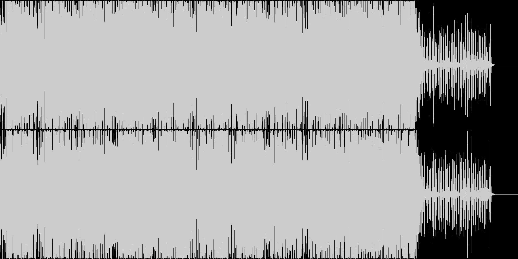希望と不安を表現したBGMの未再生の波形