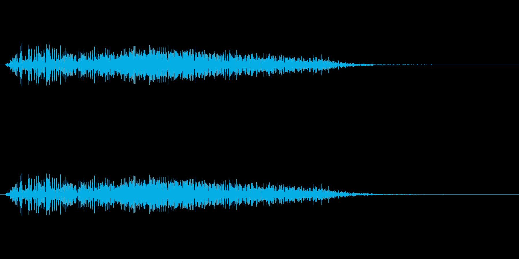 衝撃 歪んだ爆発11の再生済みの波形