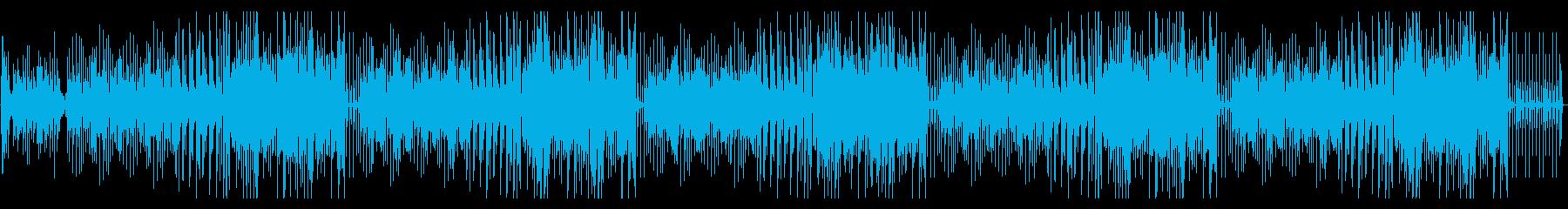 ごきげん!ポップでアコースティックな曲の再生済みの波形