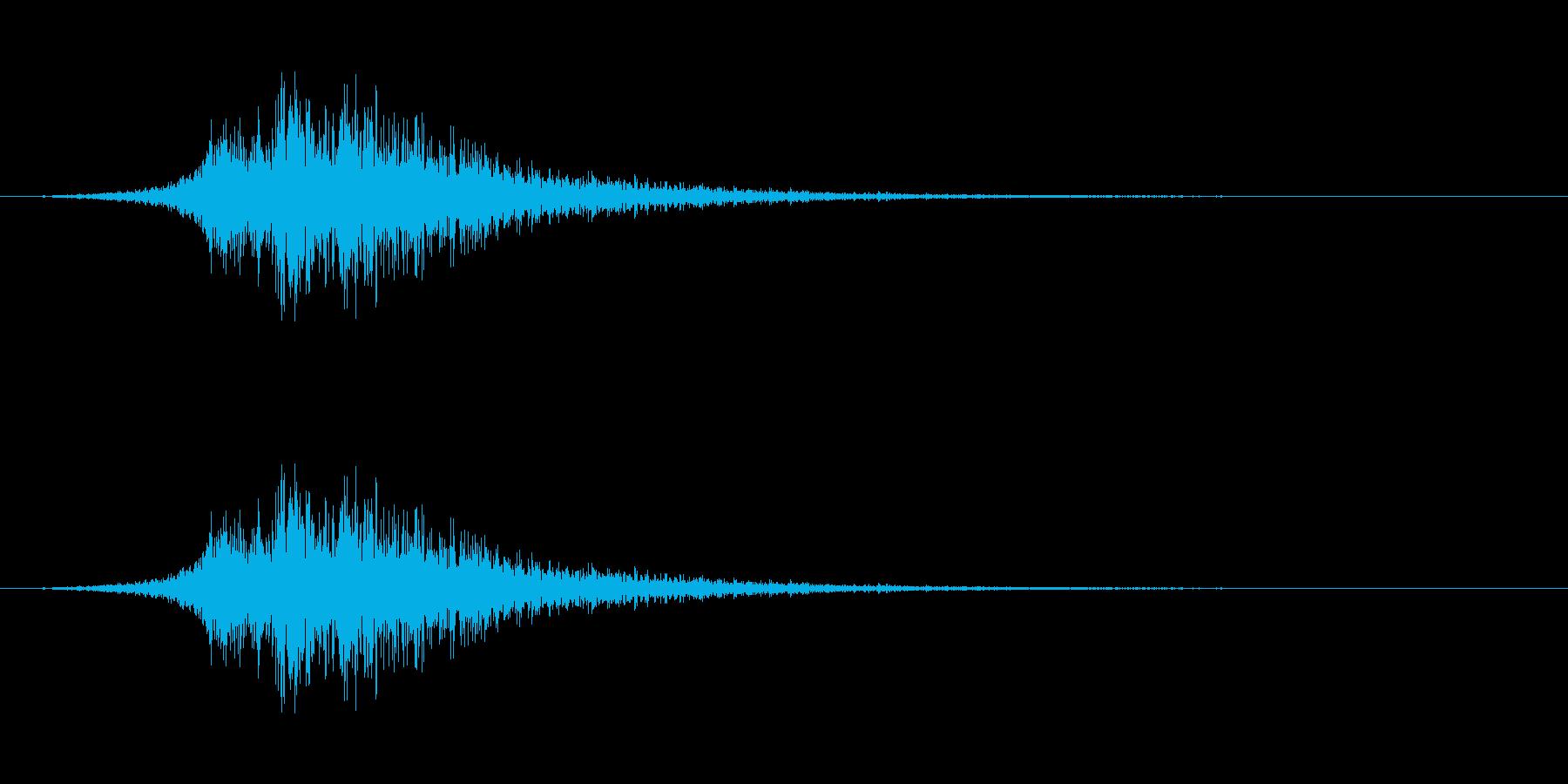 シューッという音EC02_59_2の再生済みの波形