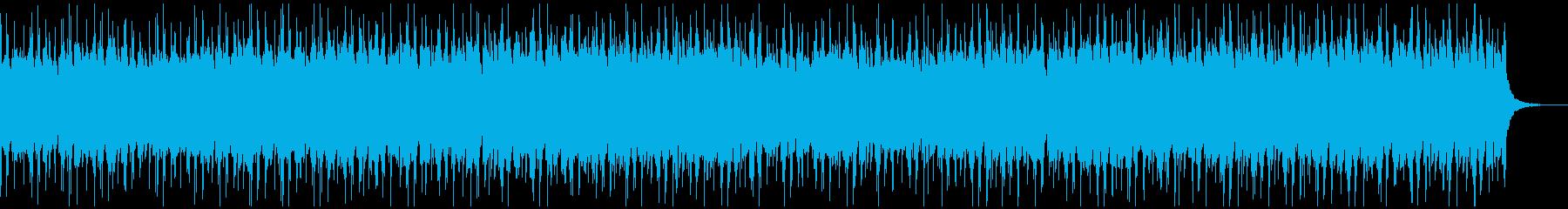 お洒落でリラックスしたチルHiphop1の再生済みの波形