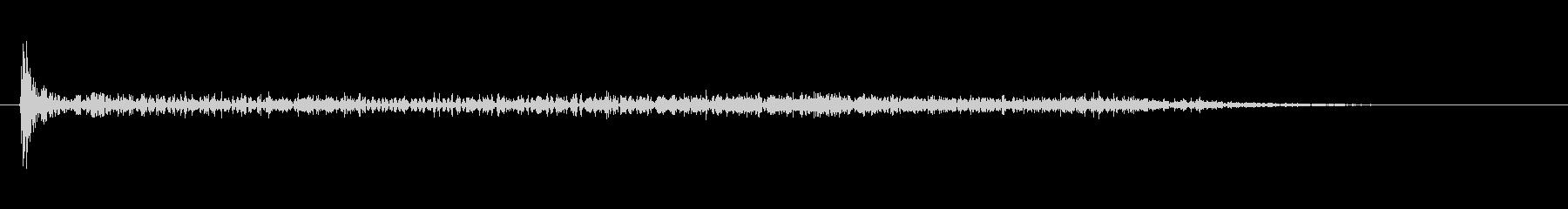 銃 ポップガンショット歪曲03の未再生の波形