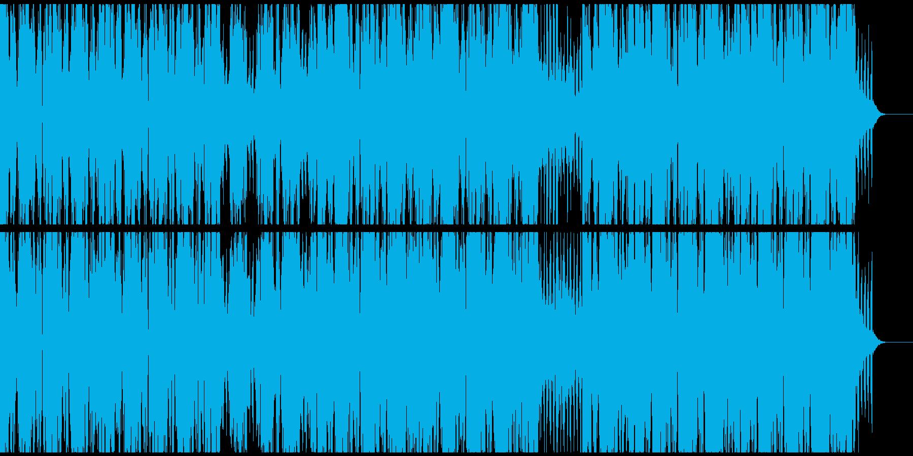 優しく流麗なエレピとシンセのヒップホップの再生済みの波形