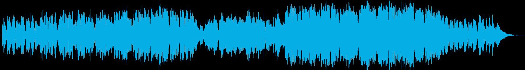 のどかなケルト風 歌ものの再生済みの波形