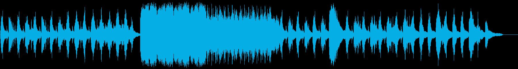繊細に流れるピアノ曲の再生済みの波形