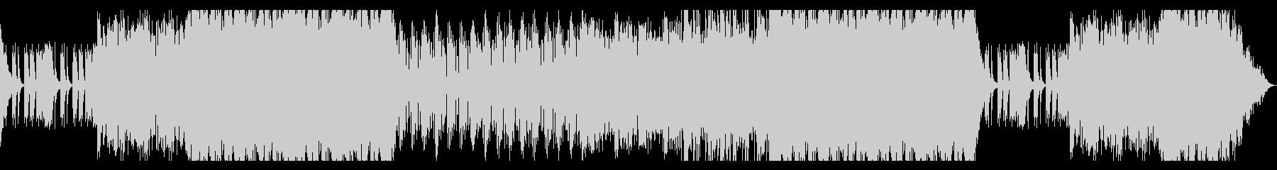 鼓舞されるような勢いのあるドラムBGMの未再生の波形