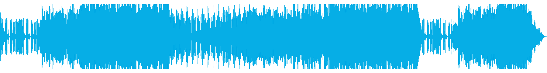 鼓舞されるような勢いのあるドラムBGMの再生済みの波形