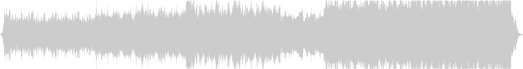 Beautiful Christmas string melody's unreproduced waveform