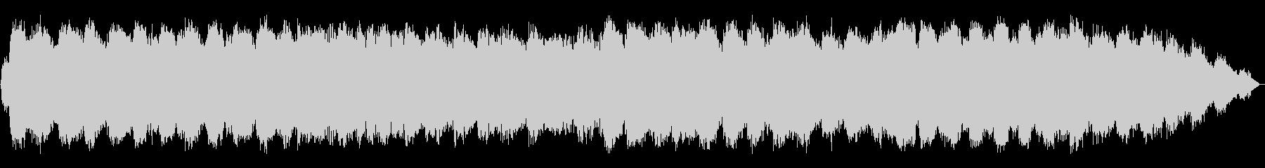 エスニックな笛のヒーリング音楽の未再生の波形