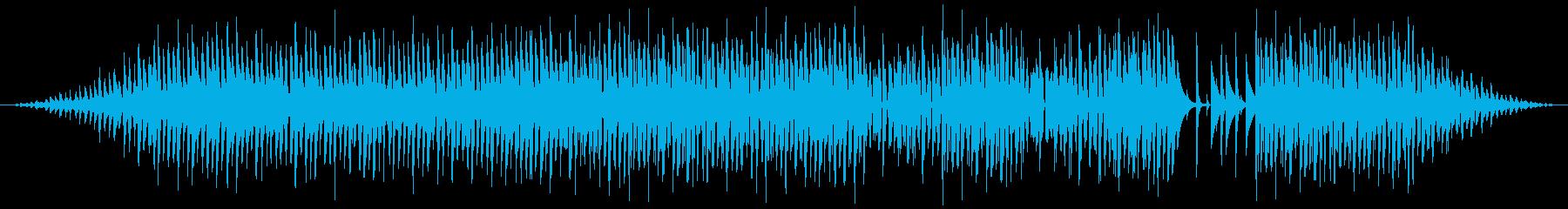 催眠的でロボット的な響きの雰囲気。...の再生済みの波形