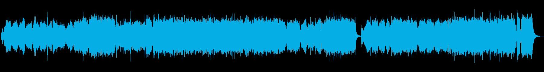 大河ドラマ風のオーケストラ曲ですの再生済みの波形