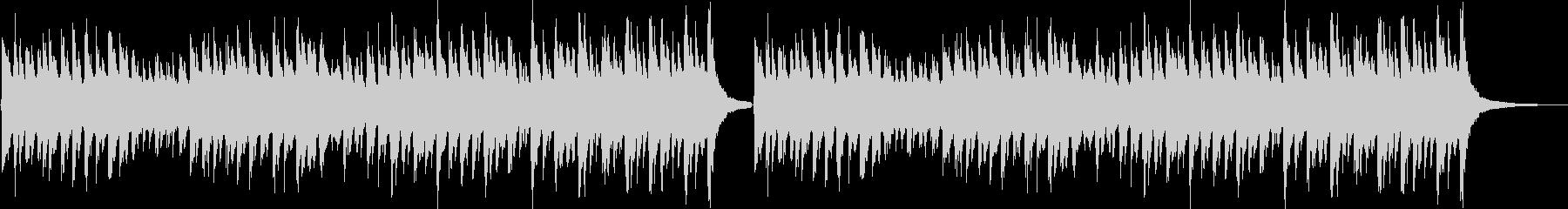 子供向けのコミカルなジングル(ロング)の未再生の波形