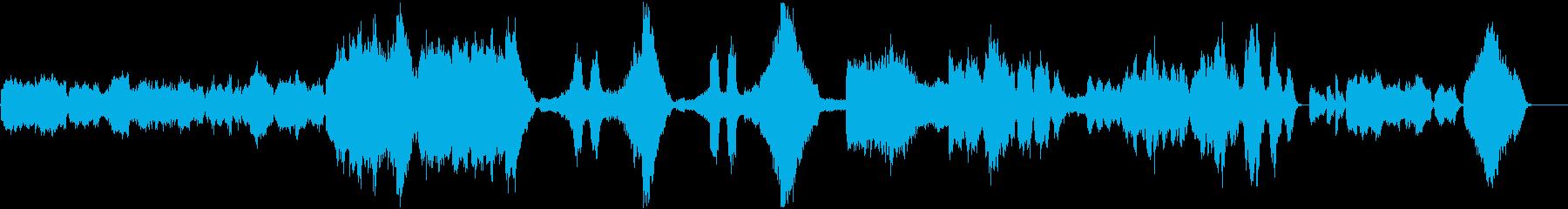 『朝』ペール・ギュント オーケストラの再生済みの波形
