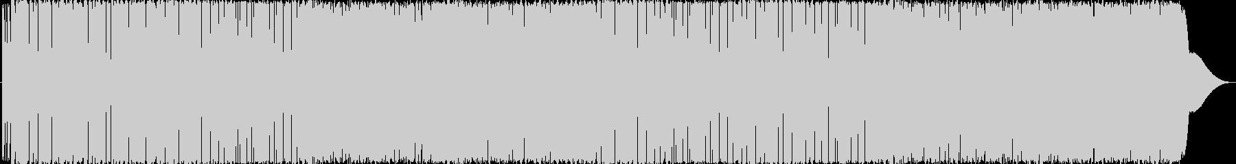 ロボットがダンスするエレクトロの未再生の波形