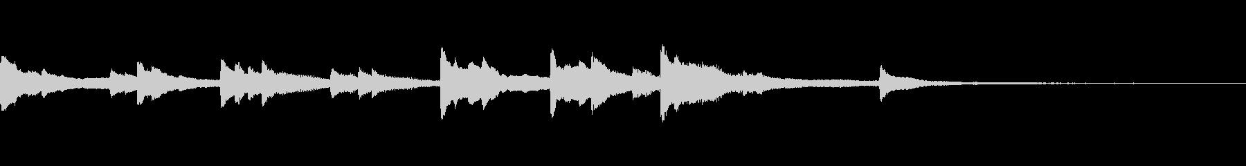 現代の交響曲 企業イメージ あたた...の未再生の波形