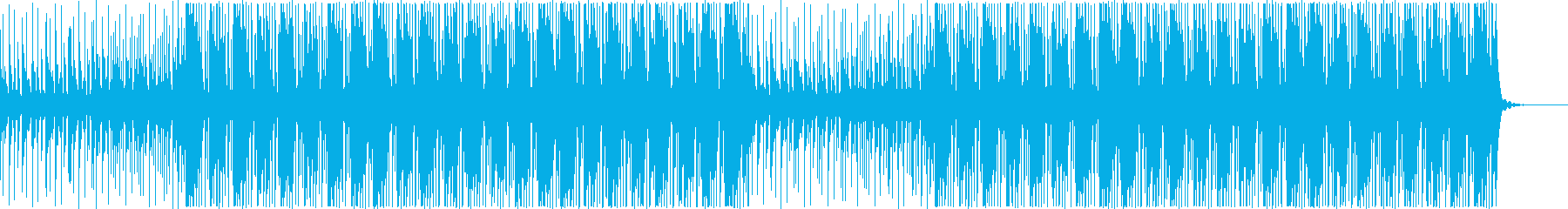 少し機械的な淡々とした/企業VP系06cの再生済みの波形