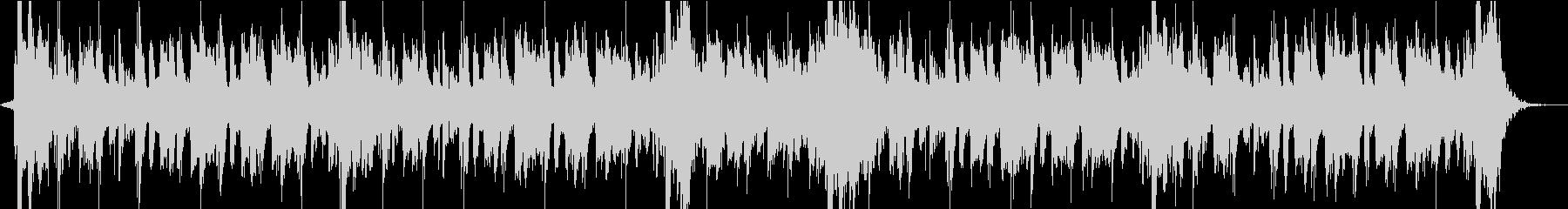 ホーンセクションのファンキーなジングルの未再生の波形