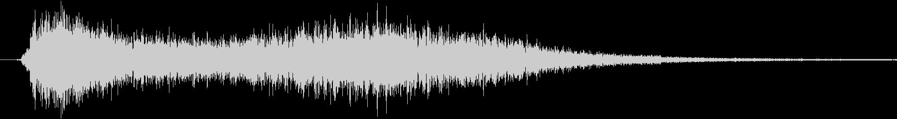ステータス上昇魔法(上昇するイメージ)の未再生の波形