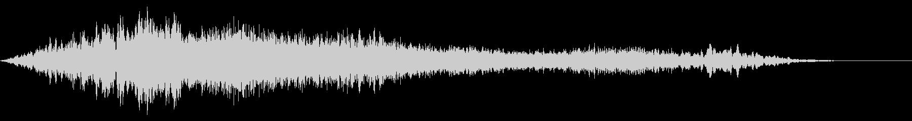 クリプトホラードローン:声の未再生の波形