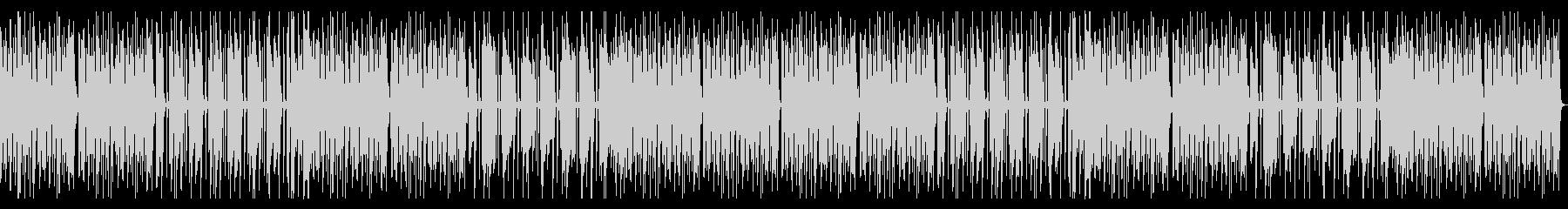 日常会話シーン、シンプルピアノ、ほんわかの未再生の波形