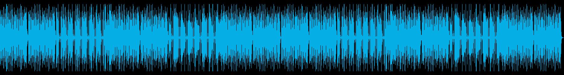 日常会話シーン、シンプルピアノ、ほんわかの再生済みの波形